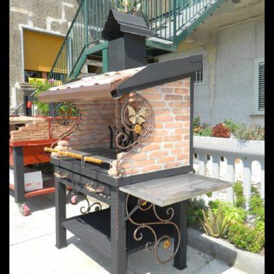Barbecue vulcano forni magliano srl for Forni magliano srl