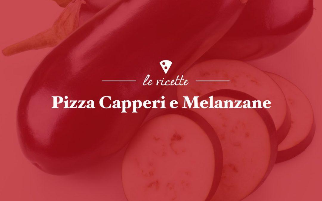Pizza con Capperi e Melanzane
