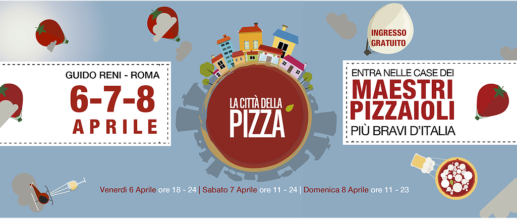 CITTA' DELLA PIZZA 2018 – ROMA