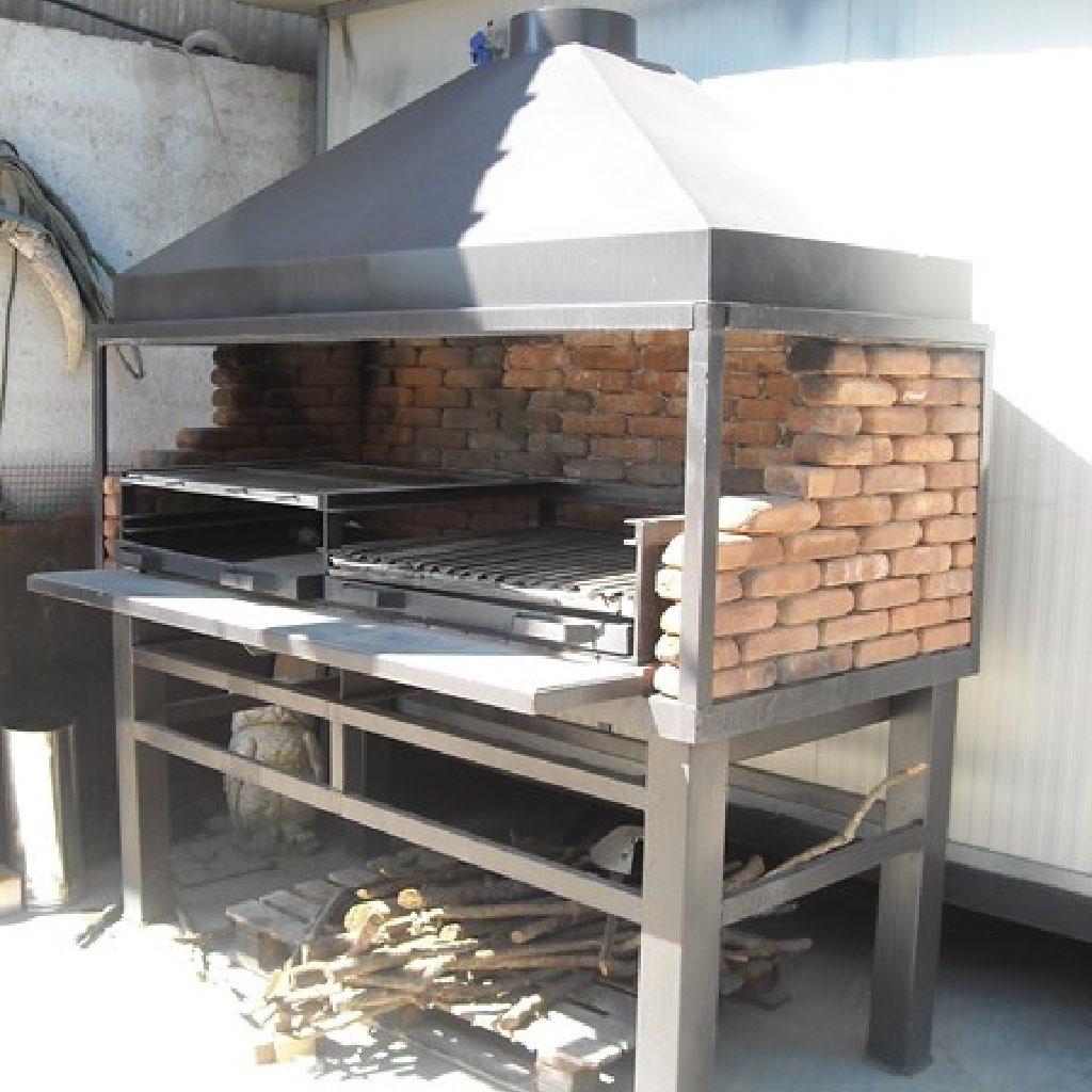 Barbecue romano forni magliano srl for Barbecue fai da te in ferro